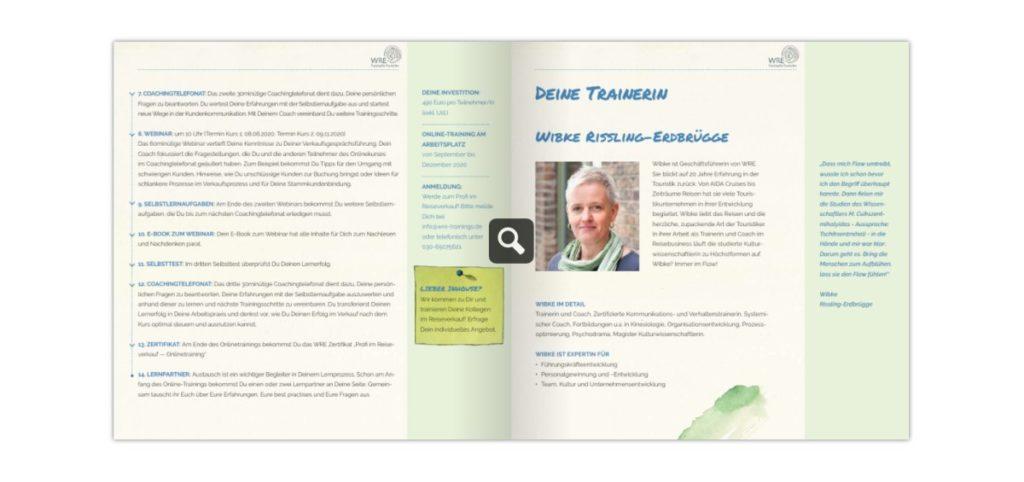 Online-Training Profis im Reiseverkauf